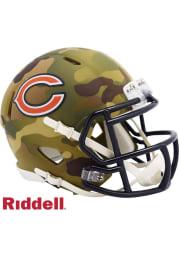 Chicago Bears Camo Speed Mini Helmet