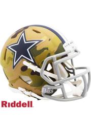 Dallas Cowboys Camo Speed Mini Helmet