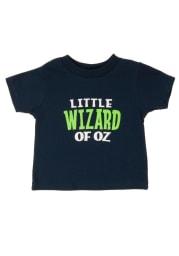 Wizard of Oz Toddler Navy Blue Little Wizard Of Oz Short Sleeve T Shirt