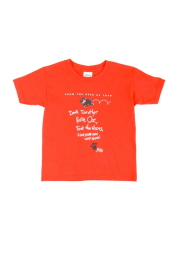 Wizard of Oz Youth Red Letter From Toto Short Sleeve T Shirt