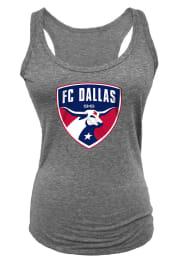 FC Dallas Womens Grey Glitter Tank Top
