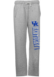 Kentucky Wildcats Womens French Terry Grey Sweatpants