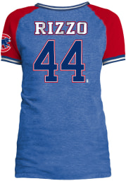 Anthony Rizzo Chicago Cubs Womens Blue Opening Night Player T-Shirt