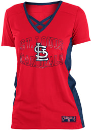 St Louis Cardinals Womens Training Fashion Baseball Jersey - Red