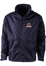 Chicago Bears Mens Navy Blue Sportsman Light Weight Jacket