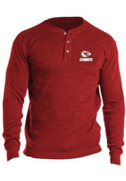 Kansas City Chiefs Red Thermal Long Sleeve T Shirt