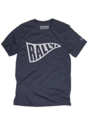 Rally Navy Blue Pennant Short Sleeve T Shirt