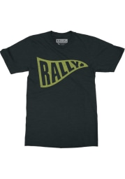 Rally Black and Gold Pennant Short Sleeve T Shirt