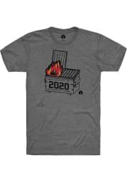 Rally Graphite 2020 Dumpster Fire Short Sleeve T Shirt