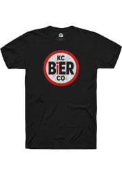 KC Bier Co. Prime Logo Short Sleeve T-Shirt - Black