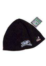 La Salle Explorers Black Microfleece Mens Knit Hat