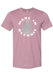 Made In Detroit Detroit Circle Icon Made in Short Sleeve Fashion T Shirt