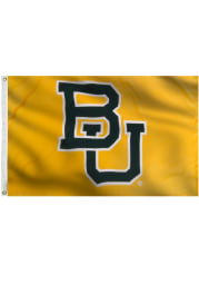 Baylor Bears 3x5 Gold Grommet Yellow Silk Screen Grommet Flag