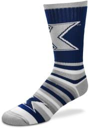 Xavier Musketeers Lotta Stripe Mens Crew Socks