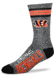Cincinnati Bengals Got Marbled Mens Crew Socks