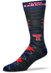 Texas Rangers Fan Nation Mens Argyle Socks