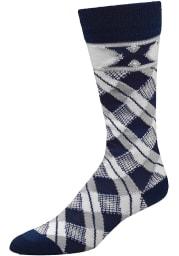 Xavier Musketeers Plaid Mens Argyle Socks