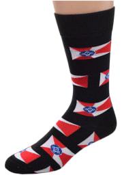 Wichita Allover Mens Dress Socks