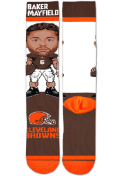 Baker Mayfield Cleveland Browns #Player Mens Crew Socks