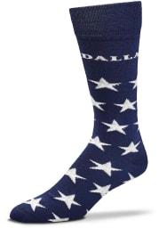 Dallas Ft Worth Stars Allover Mens Dress Socks