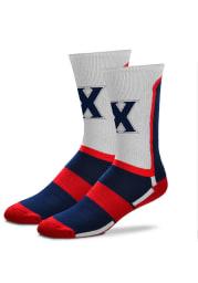 Xavier Musketeers Patriotic Mens Crew Socks