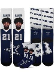 Ezekiel Elliott Dallas Cowboys Champ Mens Crew Socks