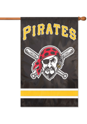Pittsburgh Pirates 44x28 Applique Sleeve Banner