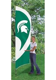 Michigan State Spartans 8.5x2.5 Tall Team Flag