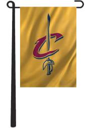 Cleveland Cavaliers Applique Team Logo Garden Flag