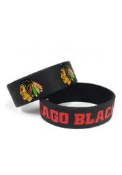 Chicago Blackhawks Wide Kids Bracelet