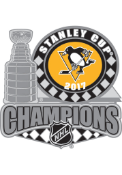 Pittsburgh Penguins Souvenir 2017 Stanley Cup Champions Pin