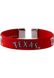 Texas Rangers Ribbon Womens Bracelet