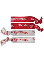 Detroit Red Wings 4PK Kids Hair Ribbons