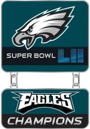 Philadelphia Eagles Souvenir Super Bowl 52 Champions Pin