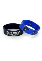 St Louis Blues 2 Pack Silicone Kids Bracelet