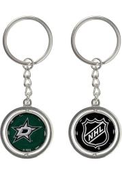 Dallas Stars Spinning Logo Keychain