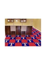 Texas Rangers 18x18 Team Tiles Interior Rug