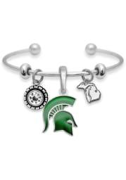 Michigan State Spartans Home Sweet School Womens Bracelet