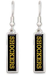 Wichita State Shockers Nameplate Womens Earrings
