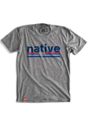 Tumbleweed Texas Grey Native Short Sleeve T Shirt