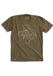 Tumbleweed Texas Green Explore Texas Short Sleeve T Shirt