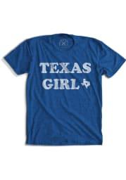 Tumbleweed Texas Girls Blue Texas Girl Fashion Short Sleeve T Shirt