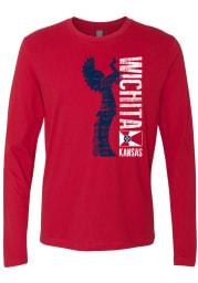 Wichita Red Keeper Long Sleeve T-Shirt