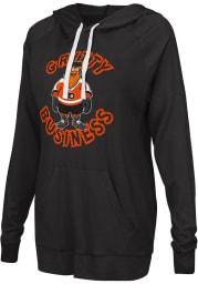 Gritty G3 Philadelphia Flyers Womens Black Gritty Pregame Hooded Sweatshirt