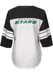 Dallas Stars Womens First Team Fashion Hockey Jersey - White