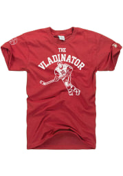 Detroit Red Wings Red The Mitten State The Vladinator Short Sleeve Fashion Player T Shirt