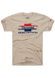 The Mitten State Detroit Oatmeal Chevy Short Sleeve T Shirt