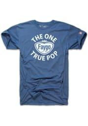 The Mitten State Michigan Blue Faygo Short Sleeve Fashion T Shirt