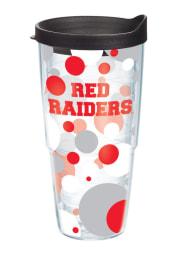 Texas Tech Red Raiders 24oz Polka Dot Tumbler