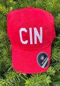 Cincinnati Top of the World District Adjustable Hat - Red